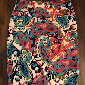 Gorgeous Colorful Paisley XS Cassie LulaRoe